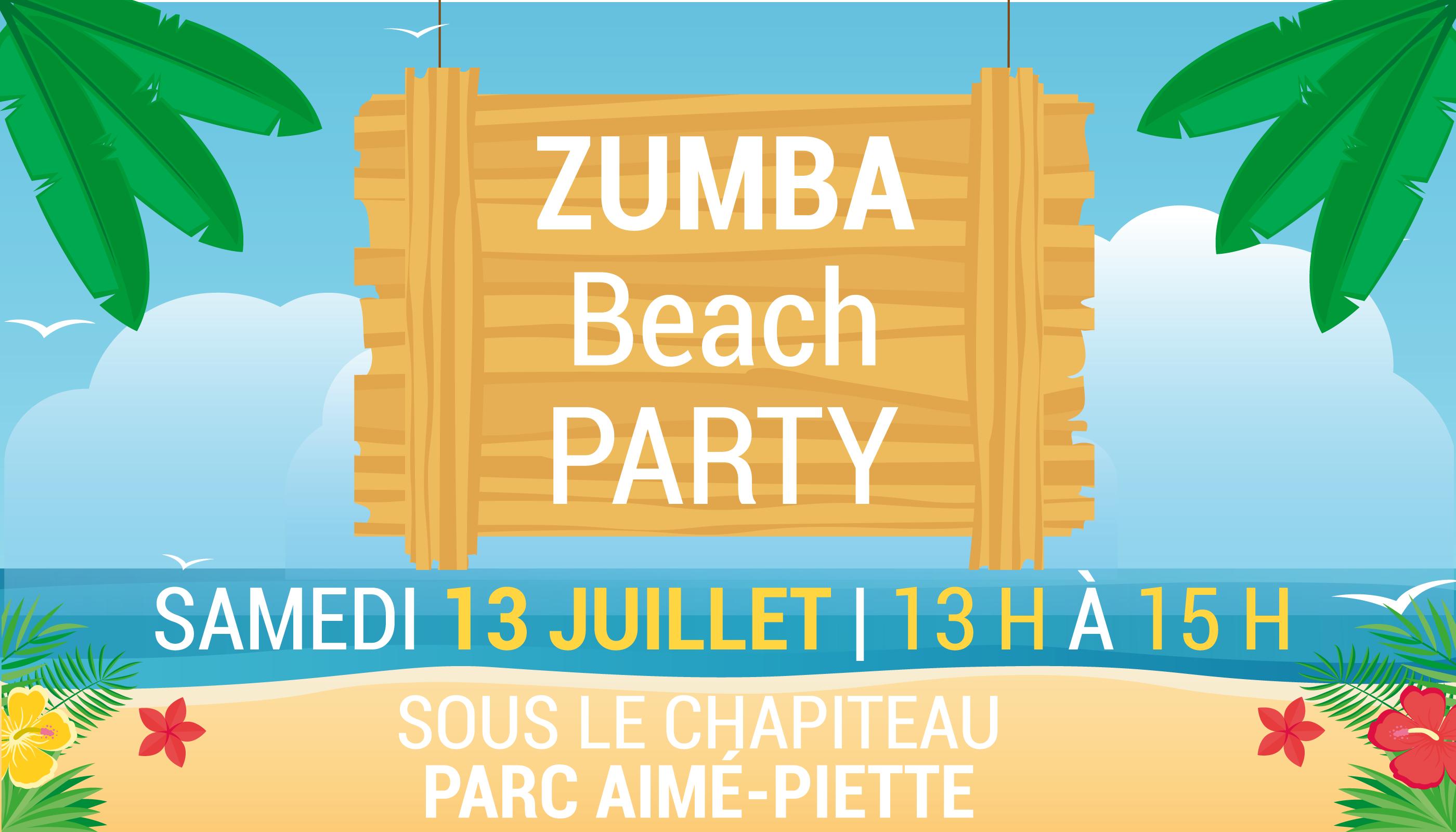 Symposium de danse   Zumba party @ Parc Aimé-Piette