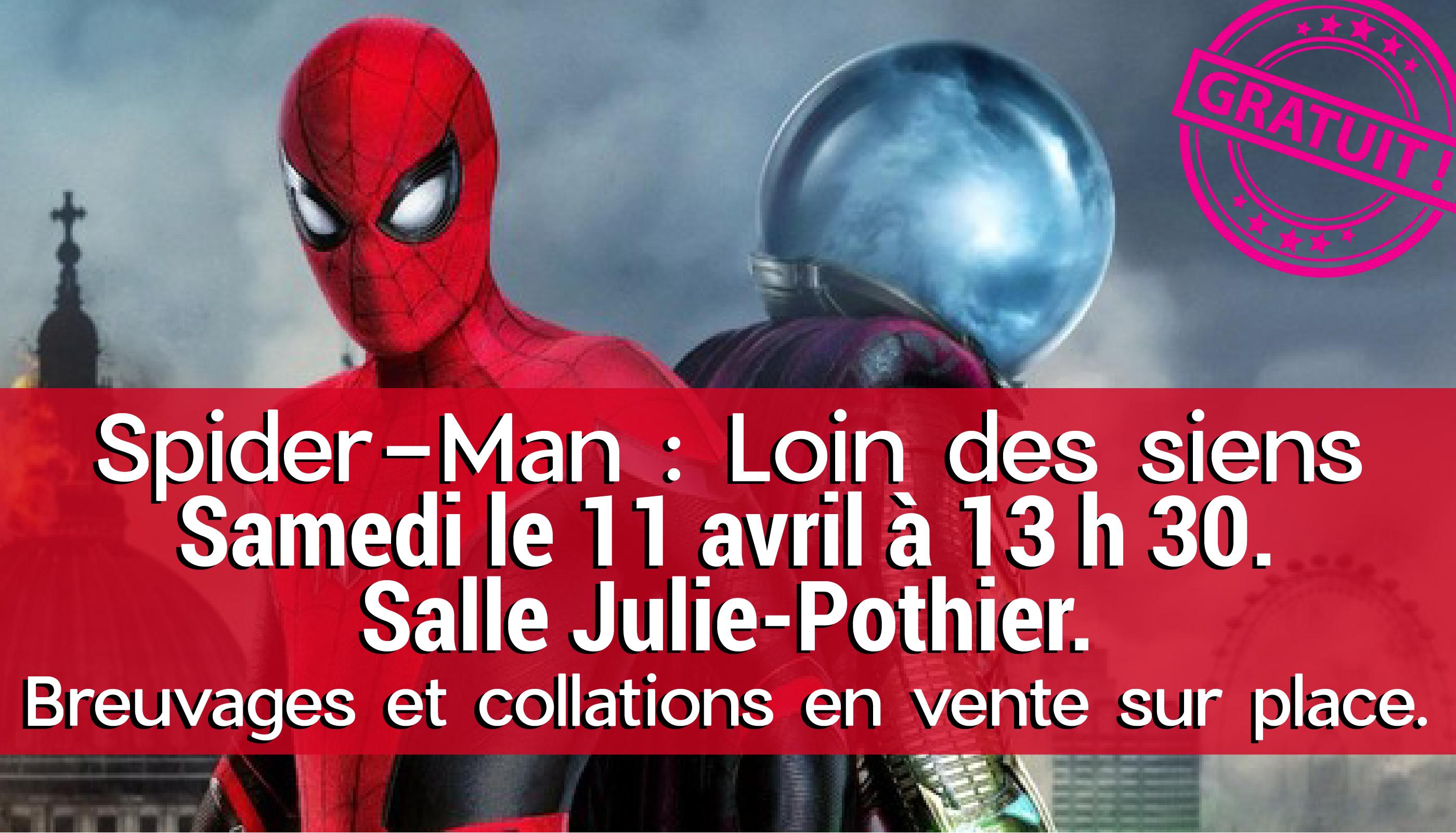 Ciné-Famille @ Salle Julie-Pothier